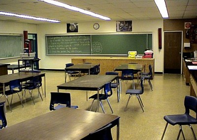This was Gordon Burleson's awesome classroom.