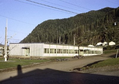 Administration building in Domestic site