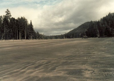 Beach at San Josef Bay