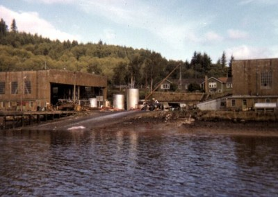 Coal Harbour. The end of the line for the Nimpkish II - June 1965