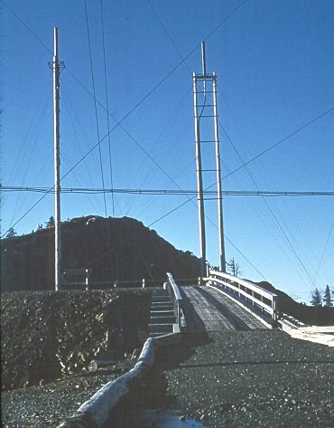 GKA5 antennas across bridge from GATR site - May 1970