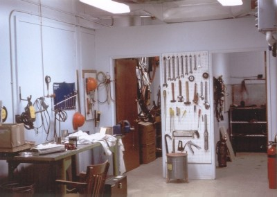 Interior photo of the RM Shop at Holberg