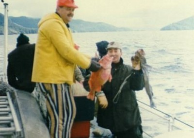 Jigging trip on the Nimpkish - October 1972