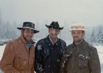 Klondike Days. (L-R) Merle Humphrey, Pat McAffer, Dale Dirks
