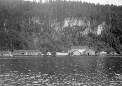 Logging town of Holberg was the largest floating town in the 1950s