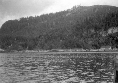 Logging town of Holberg was the largest floating town in the 1950s1