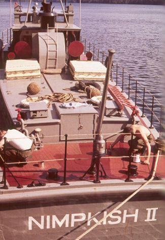Nimpkish II at Holberg dock