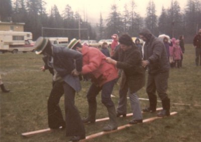 Outdoor events in the annual Klondike Days