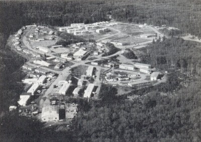 Photo of the CFS Holberg domestic site - March 1975