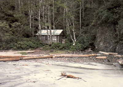 Search and Rescue cabin at San Josef Bay - June 1973