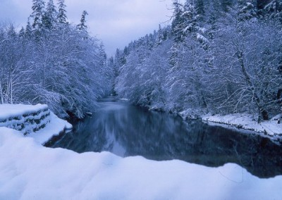 The Goodspeed River during quieter times - December 1964