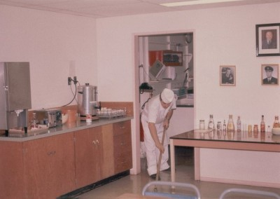 The kitchen at the Operations site