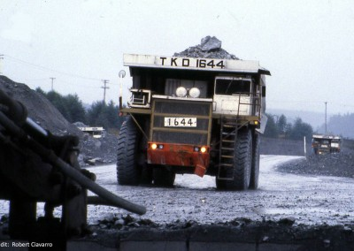 I never did find out how long it would take to haul a load from the bottom of the pit to the mill..