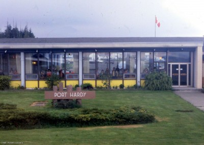 Port Hardy, BC 1978-80 (The Airport)