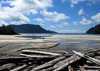 """""""Sanjo Bay"""" boasts one of the most magnificent beaches in the world."""